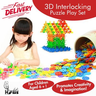 Qoo10 - 3D Interlocking Puzzle Play Set / Promotes