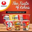 NONGSHIM KEMASAN CUP Shin Ramyun Spicy Mushroom / Kimchi Ramyun / Clay Pot Korean - AVAILABLE 70Gr and 117Gr