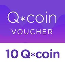 10 Q*coin Top up Voucher
