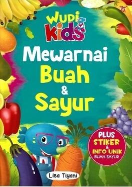 Qoo10 Wudi Kids Mewarnai Buah Sayur Buku Hobi