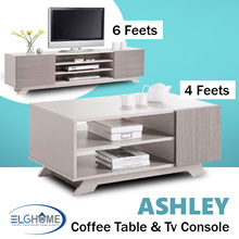 ASHLEY Simple Modern Coffee Table/TV Console/ Coffee Table/Furniture/Cabinet/Bed side table/Bedroom