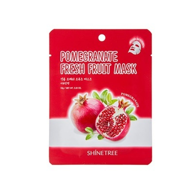 5Pcs Pomegranate Fresh Fruit Mask Sheet
