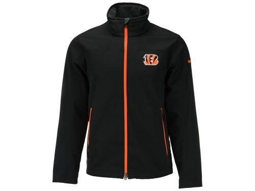 online store 48dd3 96a90 Cincinnati Bengals Nike Black NFL Soft Shell Jacket Small