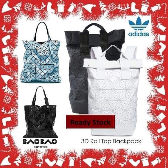 205aabe3ae Original Issey-Miyake 3D Roll Top Backpack and BAOBAO Tote Bag Deals for  only S 219 instead of S 0
