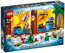 Lego 60201 City Advent Calendar 2018