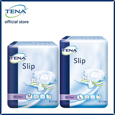 [ ][Apply Q10 Coupon][TENA Official][Free shipping] TENA Slip - Maxi (M /  L) Adult Diapers