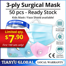 Next Day Shipping | Local Seller | Fast Delivery | Surgical Mask | Face Shield | Disposable 3PLY