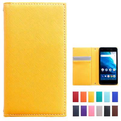 official photos e63af c0b10 iPhone X Case Notebook Type [NB] Mustard yellow
