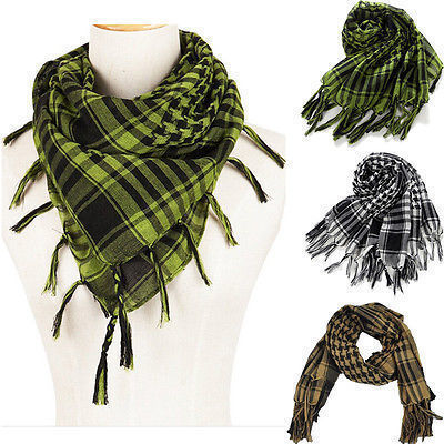 502ba75f4 Arab Scarves Desert Men Shemagh Keffiyeh Military Palestine Scarf WInter  Military Windproof Scarf