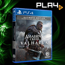 PS4 Assassins Creed Valhalla Ultimate Edition