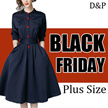 【BLACK FRIDAY】QXPRESS  2017  NEW PLUS SIZE FASHION LADY DRESS  blouse TOP PANTS skirt