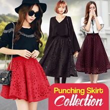 KOREA STYLE / PUNCHING LONG SKIRT COLLECTION