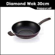 [Happycall Korea] Diamond Porcelain Vogel Wok 30cm Pan/ Made in Korea / Kitchen Art/ Diamond /
