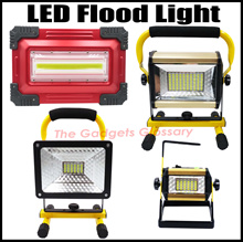 New★Rechargeable LED Flood Light★ High Quality Super Bright Full Set Indoor Outdoor Singapore Seller