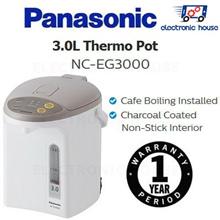★ Panasonic NC-EG3000 3.0L Electric Thermo Pot ★ (1 Year Singapore Warranty)