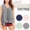 New! Women Branded Blouse Sleeveless / 4 Color / Baju Wanita / Pakaian Wanita