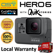 GoPro HERO 6 Black (1 Year International and SG Warranty)(Local Distribution)