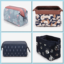 Cosmetic pouch brushes pouches travel functional toiletries makeup oragniser storage box bag in bag