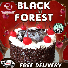 600G Black Forest Classic Moist Cake  Happy Fathers Day Wording Only(17cm Diameter) Usual $58.00