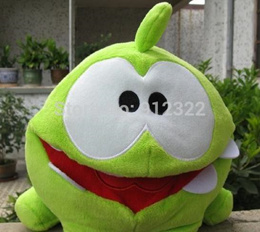 CUT THE ROPE OM NOM 8 INCH PLUSH TOY NO VOICE