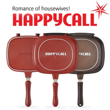 [Happy call]★Housewives favorite items★ Duplex pan series(8-type) / oven effect / Frying Pan