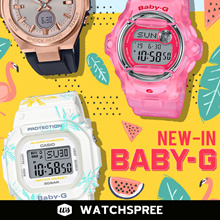 BABY-G NEW IN 2017/2018 COLLECTION. Free Shipping and 1 Year Warranty.