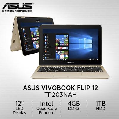 Qoo10 Asus Vivobook Flip Tp203nah Bp049t 11 6 Intel Quad Core