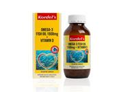 KORDEL S OMEGA 3 FISH OIL 1500  mg + VITAMIN D 120s