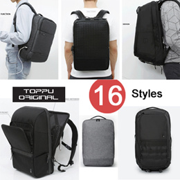 [TOPPU] NEW TOPPU Backpack 17 Styles / Casual Backpack / USB Port Backpack / UNISEX bag Collection