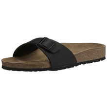 [Direct from Germany] Classic Birkenstock Madrid Birko-Flor unisex adult slippers