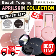 ★APRILSKIN BEST COLLECTION★FREE SHIPPING★April Skin Magic Snow Cushion Black 2.0/Signature Soap/Sun