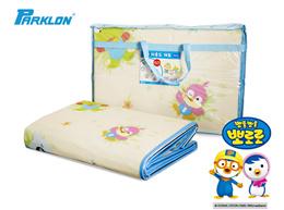 [PARKLON] MULTI-PURPOSE PICNIC MAT 240 x 180cm/Lovely Character designs/Slip Prevention/pororo /Children /Kids / Mat / PlayEmbossing/Lightweight portability/Carrying Case/Made in korea