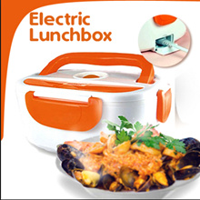 MULTI-FUNCTION Portable Electric Lunch Box Plastic or Stainless Steel Inner Container