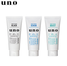 [Uno] Shiseido Uno Foam Cleansing Two sets of three whip wash / 130g / Care Pore / Blackhead / hyaluronic acid combination [Japan] [Free Shipping]
