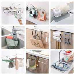 Kitchen Storage Rack / Drainer / laundry bathroom Holder Sink Sponge  Toothbrush