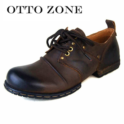 Handmade Sale Ca Otto Shoes Men Flat Zone Ankle Genuine