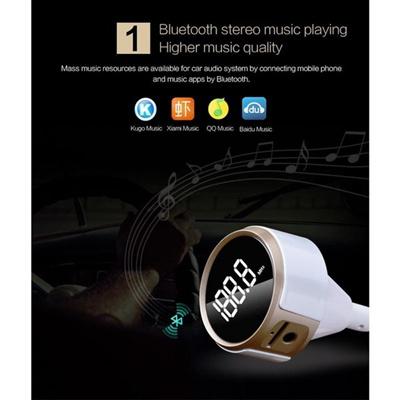 Qoo10 - LBD® Portable Bluetooth FM Transmitter Receiver