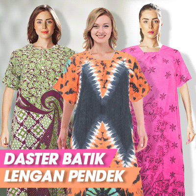 Batik Alhadi Daster Lengan Pendek Batik Printing Collections Deals for only Rp30.000 instead of Rp30.000
