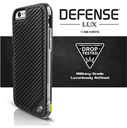 X-Doria iphone 6S Plus Defense [Military Grade Drop Protection] TPU  Aluminum Protective Coque For iphone 6