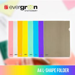 A4 L-Shape Folder Colour Gloss Finish