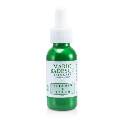 Mario Badescu - Vitamin C Serum - 29ml/1oz Paulas Choice Skin Perfecting 2% BHA Liquid Salicylic Acid Exfoliant, 1 Oz