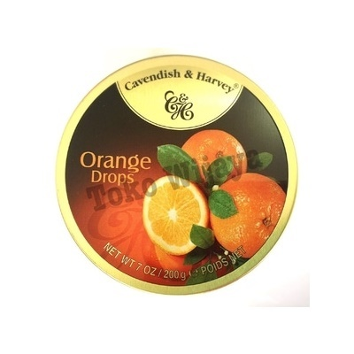 Permen Cavendish Harvey Orange Drops
