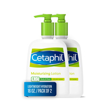 [Bundle of 2] Cetaphil Moisturizing Lotion for Body and Face Lotion 453g 16 oz. For All Skin Types