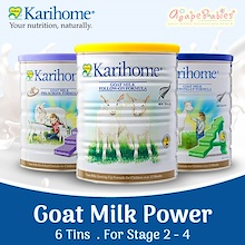6 TINS PROMO!! #1 Authorised SG Retailer ★ KARIHOME Goat Milk ★ APPLY QOO10 Coupon!