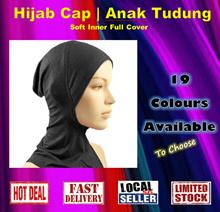 Hijab Muslim Islam Inner Cap Cover Anak Tudung