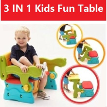 kids table chair storage table★3 In 1 Multipurpose Children Table ★ Toys Bench / Children table