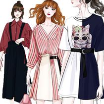 2019 NEW S-7XL   PLUS SIZE FASHION LADY DRESS OL BLOUSE PANTS TOP
