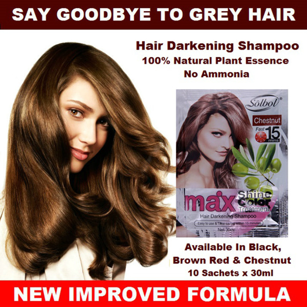 SOLBOL Hair Darkening Shampoo Deals for only RM83.3 instead of RM94