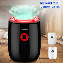 Electric Mini Dehumidifier Fully Automatic Mildew Killer Quiet Room Reduce Air Humidity Dry