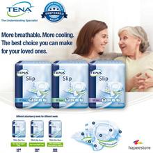 Carton Sales! Unisex Adult Diapers! Tena Slip Plus (M/L) / Slip Super (M/L) / Slip Maxi (M/L)